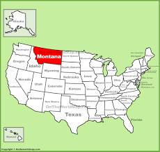 Map Of Montana And Wyoming by Montana State Maps Usa Maps Of Montana Mt