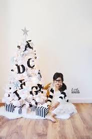 a black u0026 white christmas little inspiration
