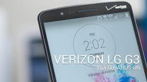 the verizon lg g3 u2014 hands on youtube