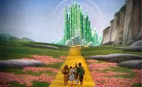 so many poppies aka follow the yellow brick road the girl