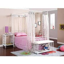 Bed Canopy Frame Full Size Princess Bed Frame Feel Like A Princess With The Fairy
