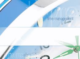 time management design slides template for powerpoint 2003 or