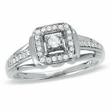 all promise rings images 1 8 ct t w diamond square framed promise ring in sterling silver jpg