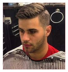 mens short hairstyles with beards as well as mens side part hair