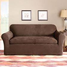 Slipcovers For Sofas With Three Cushions 3 Piece Sofa Slipcover Ebay