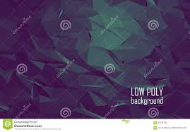 low poly 3d abstract vector background dark stock vector image