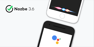 siri and google assistant can now talk nozbe