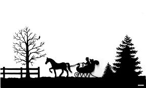 silhouette and sleigh cake how to cake that