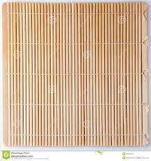 stuoia bamboo stuoia di bambù per i sushi immagine stock immagine di grezzo