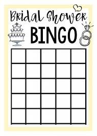 wedding words for bingo free printable bridal shower squared
