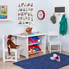 kids study table and chair set kids study playrooms and storage