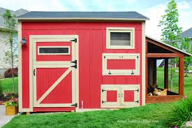 Backyard Chicken Coop Plans by Chicken Coop Attached To Barn 1 Pole Barn Coop Two The Run 29