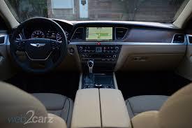 2015 Hyundai Genesis Interior 2015 Hyundai Genesis Awd 3 8 Review Web2carz