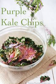 purple kale chips easy healthy snack recipe mummy kitchen