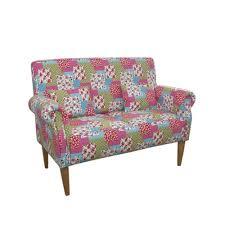 sofa bunt 2 sitzer sofa prince in bunt im patch work design