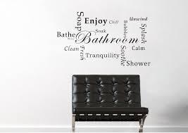 bathroom wall stickers wallartdirect co uk