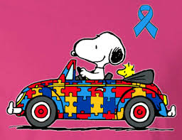 volkswagen beetle pink convertible snoopy and woodstock driving in a volkswagen beetle convertible