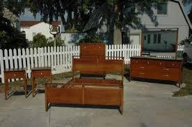 525 5 piece mid century bedroom set drexel van koert for sale in