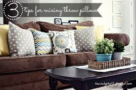 Mixing Throw Pillows House By Hoff