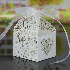 How To Make Decorative Gift Boxes At Home Wholesale 20pcs Hollow Out Pattern Gift Boxes Ribbon