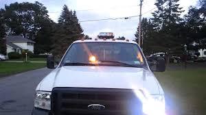 snow plow strobe lights plow truck strobes youtube