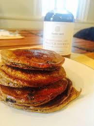 pumpkin blueberry pancakes paleoscaleo