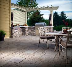 Outdoor Kitchen Lighting Outdoor Kitchens And Lighting Cutting Edge Hardscapes