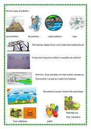 pollution worksheet free esl printable worksheets made by teachers