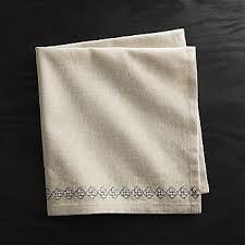 light pink dinner napkins paper cloth napkins crate and barrel