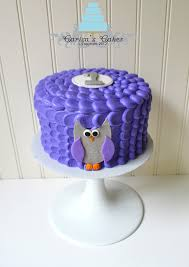 carisa u0027s cakes owl smash cake