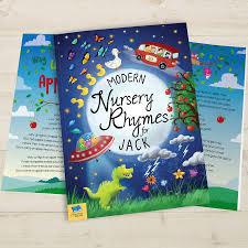 personalised book of modern nursery rhymes by letteroom