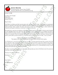 elementary school cover letter writing a teaching cover letter