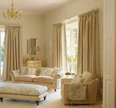 drapes on a white drapery rod interior design window