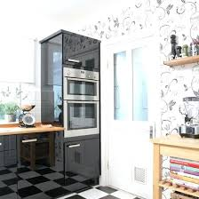 wallpaper in kitchen ideas designer wallpaper for bathrooms simple kitchen detail