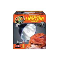 Zoo Med Light Fixture by Zoo Med Uvb Desert Lighting Starter Kit Petco