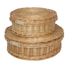 small round wicker baskets round designs