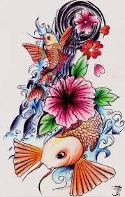 japanese fish tattoos designs