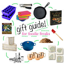 foodie gifts 2013 gift guide for the foodie freak and kitchen lover
