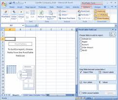 How To Create Pivot Tables In Excel Excel 2007 Creating Pivottables Page 3