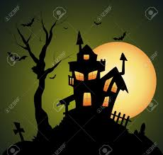 4 990 haunted house stock illustrations cliparts and royalty free