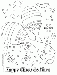 cinco mayo coloring pages printable coloring