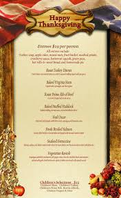 thanksgiving thanksgiving menu the homestead restaurant