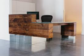 Reception Desks Modern Reception Desk Modern Home Office Atlanta By Skylar