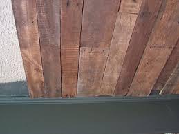 peekaboo pallet ceiling