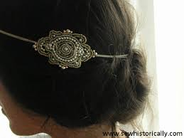 how to make a 1920s hairpiece diy 1920s beaded headpiece sew historically