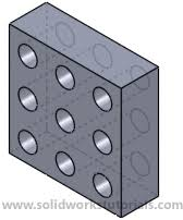 solidworks linear pattern how to use linear pattern