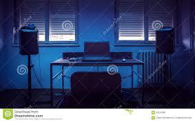 simple home recording studio stock photo image 63216385