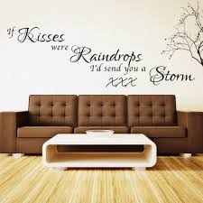 Bedroom Wall Stickers Sayings Online Buy Wholesale Kissing Quote From China Kissing Quote