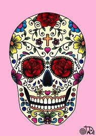 sugar skull background skull tattoos sugar skulls