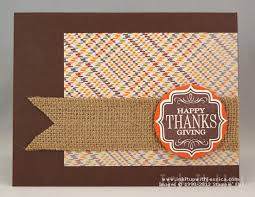 happy thanksgiving card ink it up with card